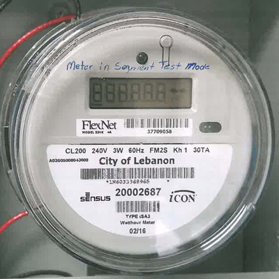 Picture of Electric Meter